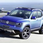 Новый кроссовер Volkswagen Taigun.