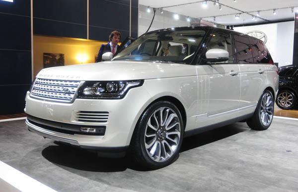 Обзор автомобиля Range Rover
