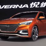 Новое поколение Hyundai Solaris показали публике.