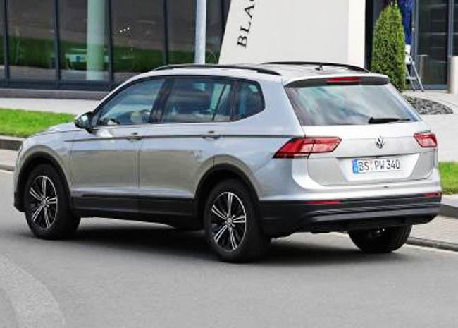 Volkswagen Tiguan обзавелся семиместной версией. фото 1