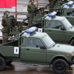 Российские Воздушно-десантные войска пересели на «Нивы».