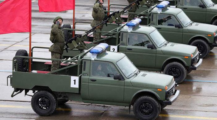 Российские Воздушно-десантные войска пересели на «Нивы». фото 2